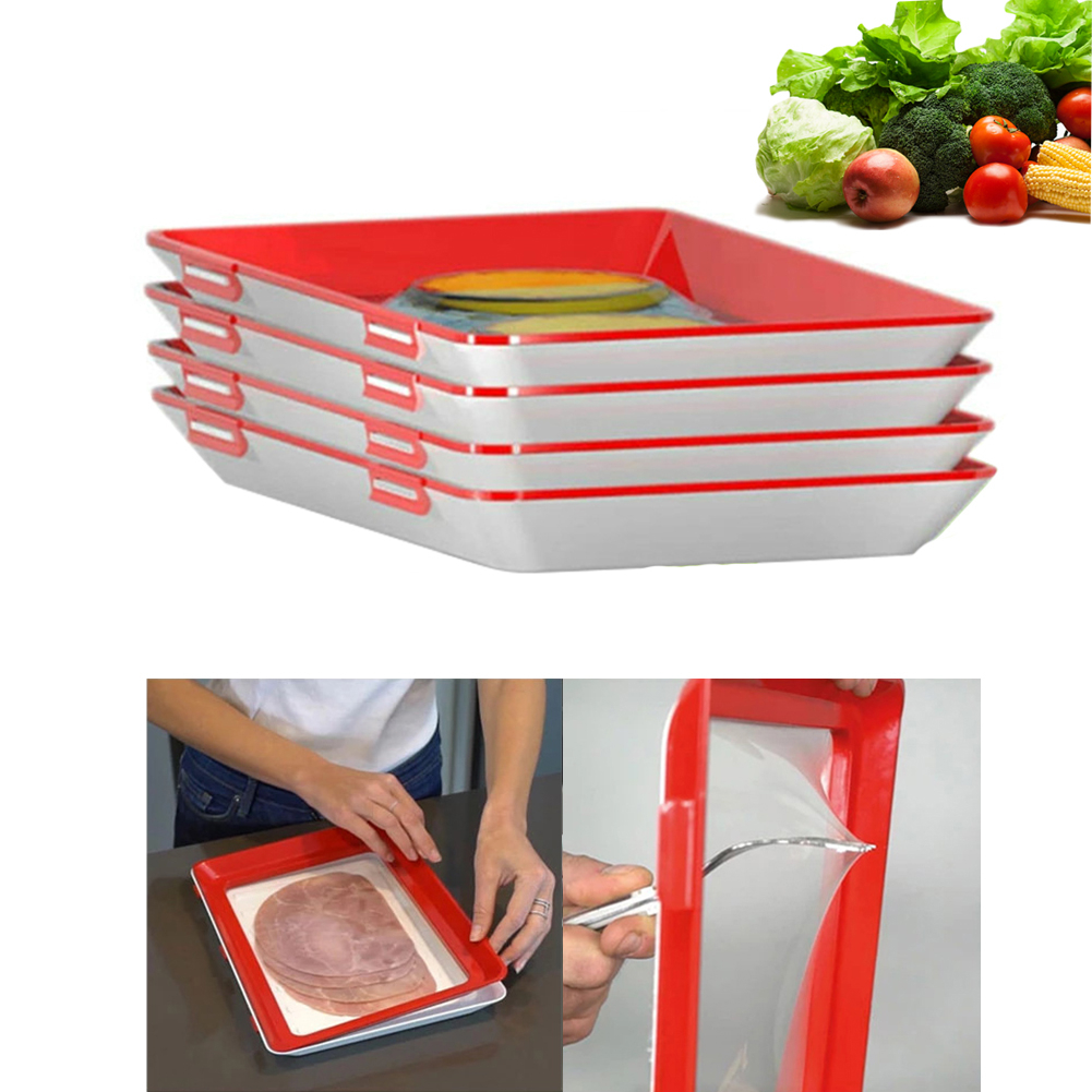 Clever Tray Creative Kitchen Items Food Storage Container Set Food Fresh