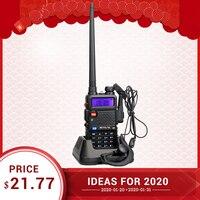 RETEVIS RT5R Handy Walkie Talkie 5W VHF UHF VOX FM Ham Amateur Radio Station Two way Radio Walkie Talkie for Baofeng UV 5R UV5R