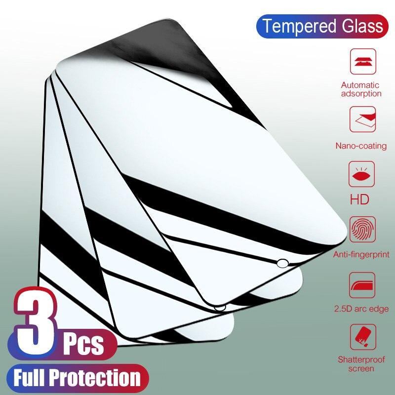 3pcs Tempered Glass For Xiaomi Redmi Note 7 5 Pro Screen Protector Protective Glass For Redmi Note 8 6 Redmi 6a 4x 5 Plus Glass