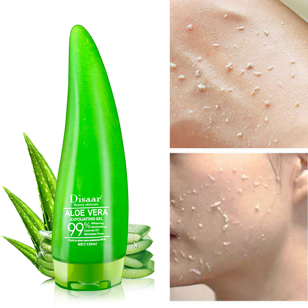99% Aloe Soothing Gel Aloe Vera Gel Skin Care Remove Acne Moisturizing Day Cream After Sun Lotions Aloe Gel  120ml