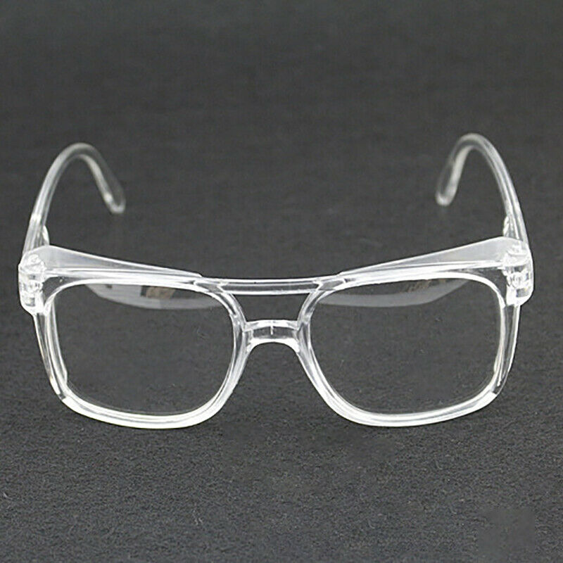 Clear Lens Eye Protection Safety Glasses Anti Dust Anti Sand Working Goggles Lab Factory Outdoor Sport Protect Tool