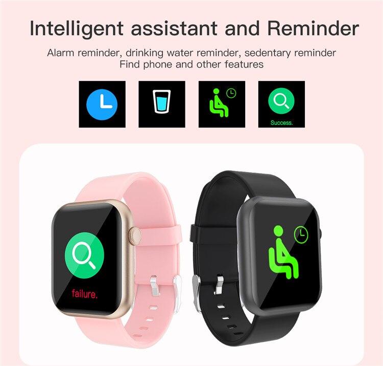 H83f0b60e63c44ff3ace25bec6f34836dL Oxygen Monitor Smart Watch 2020 Blood Pressure Smartwatch