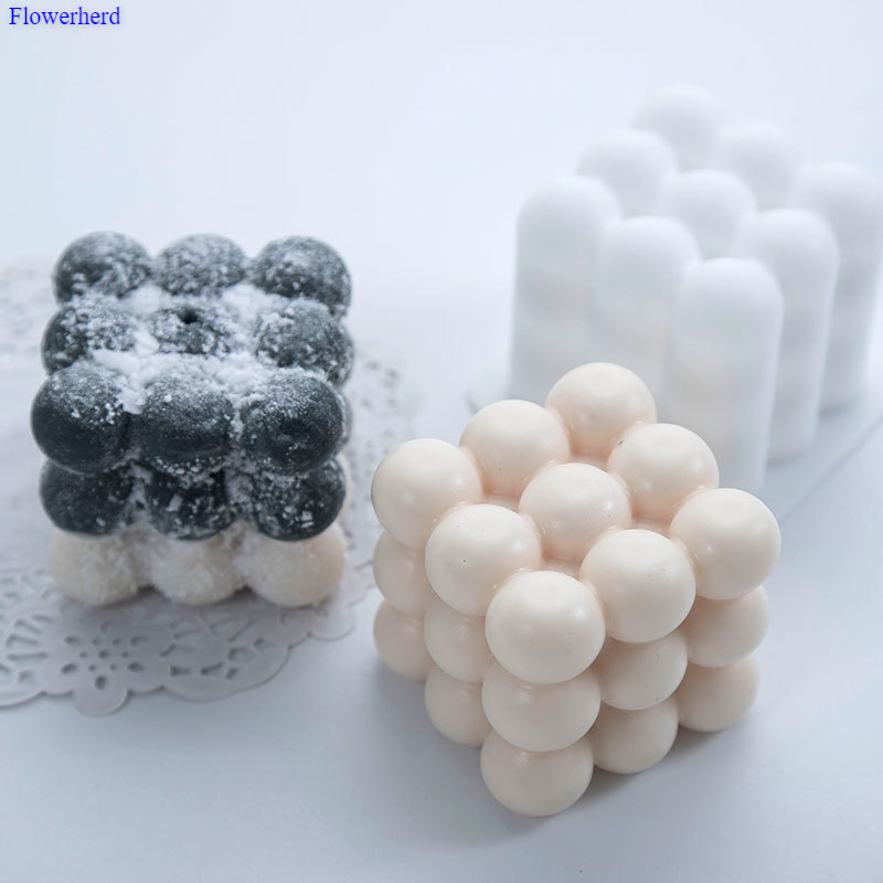 Single Hole Ball Cube Mousse Handmade Soap Silicone Mold DIY Soap Silicone Mold 3d Mold Plaster Candle Mold Ice Mold Cake Decors
