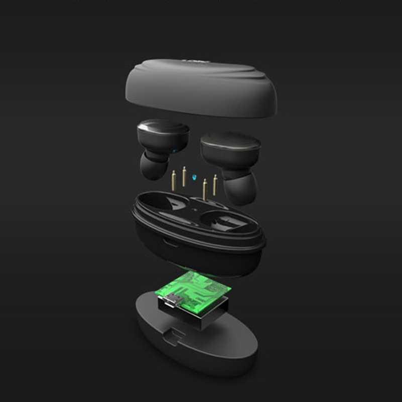 T12 Bluetooth наушники Двойные стерео беспроводные наушники бас Bluetooth гарнитура громкой связи для смартфона, ПК Pad аудио вызов