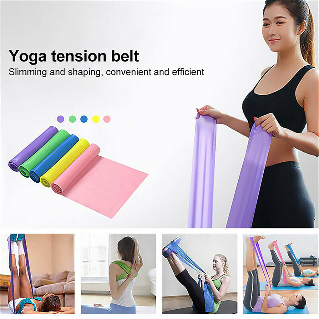 Yoga Tension Band Fitness Equipment Training Resistance Bands Rubber Yoga Fitness Tension Loops Sport Training Equipmen Hot