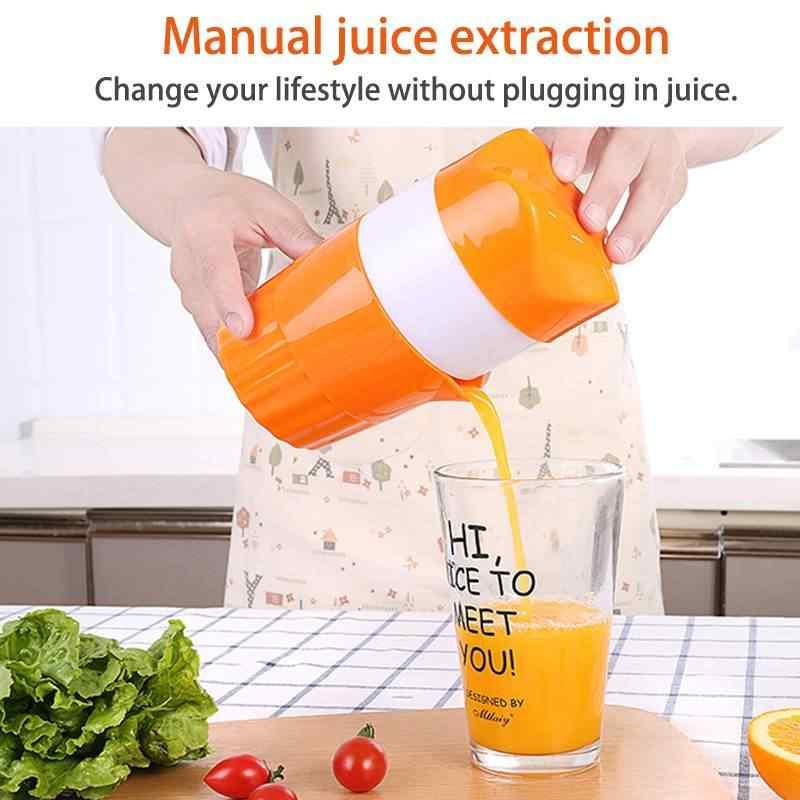 300ml Copo de Laranja Limão Espremedor de Frutas Espremedor de Citrinos Manual 100% Original Vida Saudável Suco Criança Potável Máquina Juicers