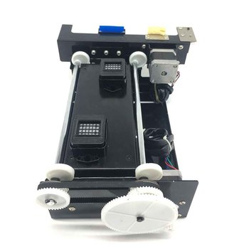 xp600 dx5 dx7 5113 Printhead Cleaning Station XP600 Double Head Capping Station Assembly Black color for eco solvent printer