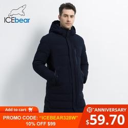 ICEbear 2019 Nuovo Inverno Giacca a Vento Maschile di Cotone degli uomini di Modo Parka casual Uomo Cappotti di Alta Qualità Degli Uomini Del Cappotto MWD18826I