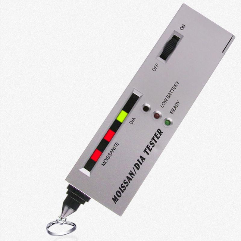 Profesjonalna biżuteria Tester diamentów diamentowy selektor LED Moissanite Tester wysokiej dokładności długopis z detektorem narzędzi jubilerskich