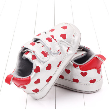 Newborn Baby Shoes Toddle  Infant Girl First Walkers Heart Printed infant