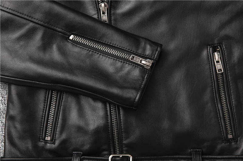 H83f29a77ee654823aea9c01e0d22013cI Free shipping,Sales!Brand new genuine leather jacket.mens motor biker sheepskin coat.slim plus size jackets.leather outwear