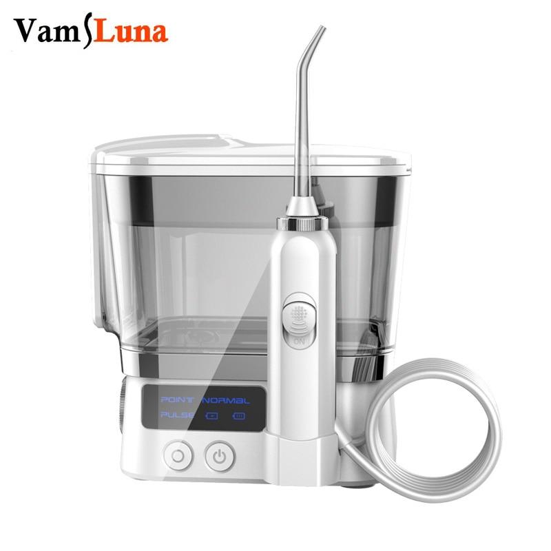 portable dental oral irrigator agua higiene oral flosser 2 dicas jet bocais 10 modos de agua