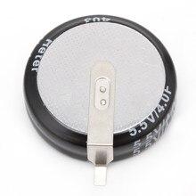 Super condensateur universel 4.0F 5.5 V, 2 pièces, bouton intelligent de Type H, nouveau