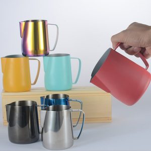 Stainless Steel Milk Frothing Jug Espresso Coffee Pitcher Barista Craft Coffee Latte Milk Frothing Jug Pitcher 350 600 1000ml