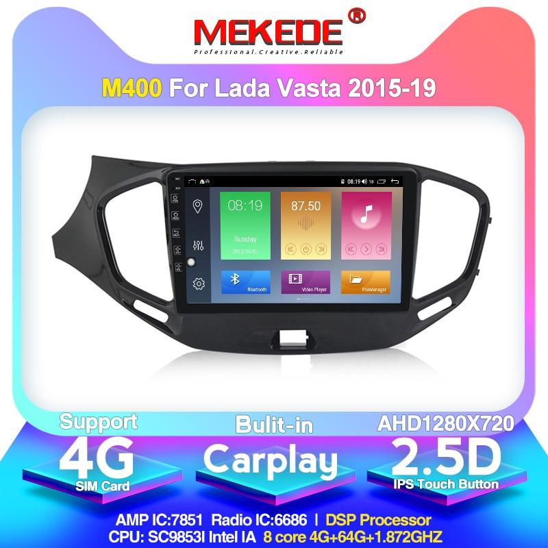 2din Android 10.0 8core 4+64G Car Radio Multimedia Video Player For LADA Vesta Cross Sport 2015 2019  GPS Navigation carplay BT|Car Multimedia Player| |  - title=