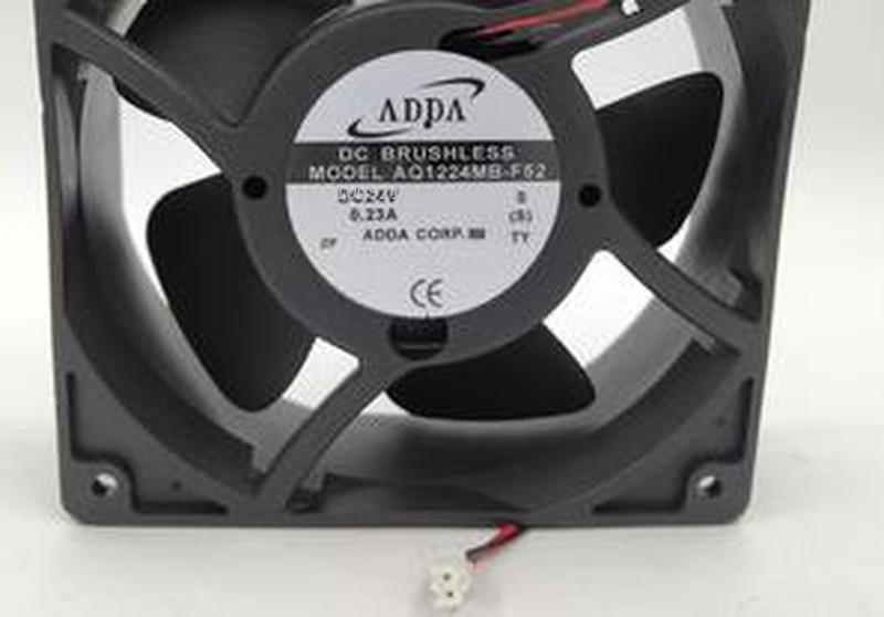 For AQ1224MB-F52 Full Waterproof Cooling Fan DC 24V 0.23A 5.05W 2800RPM 12038 120*120*38mm 12cm 3 Wires Free Shipping