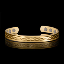 2019 Bangle Pulseiras Viking Bracelet Jewelry 18k Gold-plated Health Bracelet Simple And Universal Magnetic Therapy Hot-selling hot sale natural diamond emerald bracelet bangle in solid 18k white gold bracelet oval 4x6mm na0035