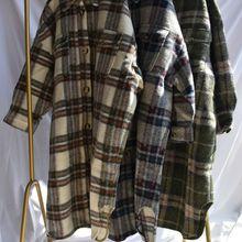 Осень/зима пальто и куртки Большая Форма Щеткой карман Шерсть Женская Шерсть& смесь