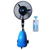Atomização ventilador de refrigeração comercial poderosa proteção ambiental de poupança de energia móvel ventilador de atomização fábrica humidifica