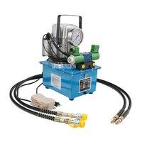 DBD750 DS2 bomba hidráulica elétrica com válvula solenóide imprensa hidráulica de circuito duplo bomba de pistão de alta baixa pressão da imprensa de óleo|Ferramentas hidráulicas| |  -