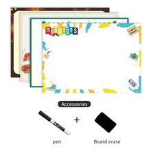 A4 Size Magnetic Whiteboard Fridge Magnets Sticker Presentat