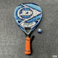 Professional Dunlop Paddle Racket Beach Tennis Racket Carbon Fibre Cage Tennis Bat Sports Squash Racquet Battledore For Adult