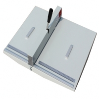 종이 사진 마분지 460mm 400g 종이를 위한 수동 서류상 creasing 기계 최대