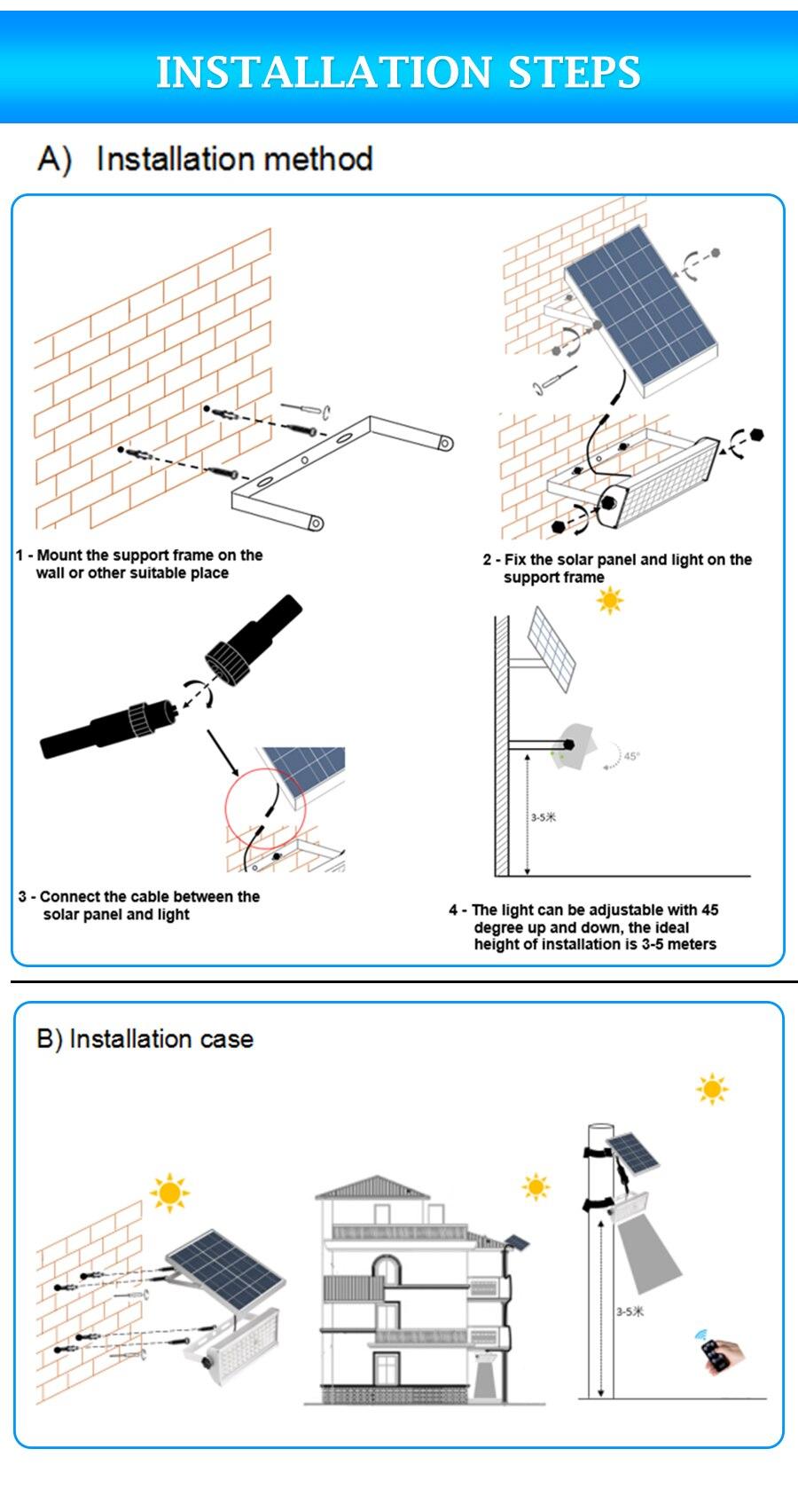 Lâmpadas solares