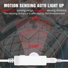 5V LED Strip Lights USB Smart Lamp Sensor 5M Waterproof Unde