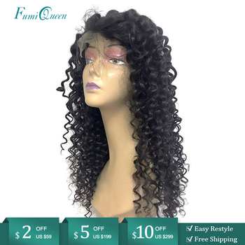 Deep Wave 4x4 Lace Closure Wig Preplucked Hairline 13x4 Lace Frontal Wigs for Black Women Brazilian Remy Human Hair Custom Wigs