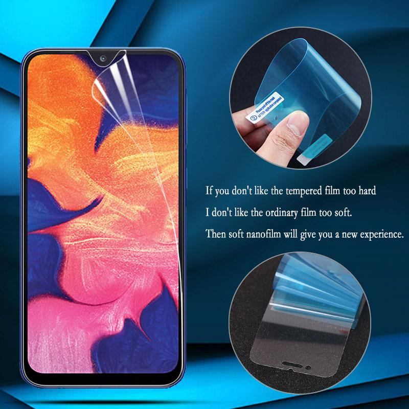 Nano Explosion-proof Film For Samsung A71 A51 A70 A50 A40 A30 A20 A10 A20e M30 M20 M10 A60 Full Cover Front Screen Protector