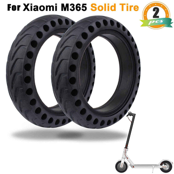 Durable Tire for Xiaomi Mijia M365 MI Scooter Tyre Solid Hole Tires Shock Absorber Non-Pneumatic Tyre Wheel electric scooter