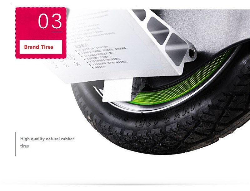 Daibot Portable Electric Scooter One Wheel Self Balancing Scooters Buletooth Speaker 14 Inch 350W 60V Electric Unicycle Scooter  (49)