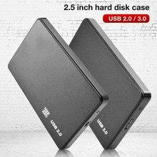 USB 3.0/2.0 5G 2.5inch SATA External Transmission Closure HDD Hard Enclosure Disk Case Box External Hard Disk for PC