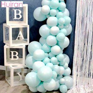 Przezroczysta kabina prysznicowa dla dzieci chłopiec dziewczyna dekoracja na urodziny 1st One pierwsze urodziny dekoracje weselne chrzciny Babyshower Supplies