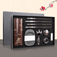 Chinese Painting Calligraphy Brush Penholder ink stone Suit Paper weight Art Set Painting supplies