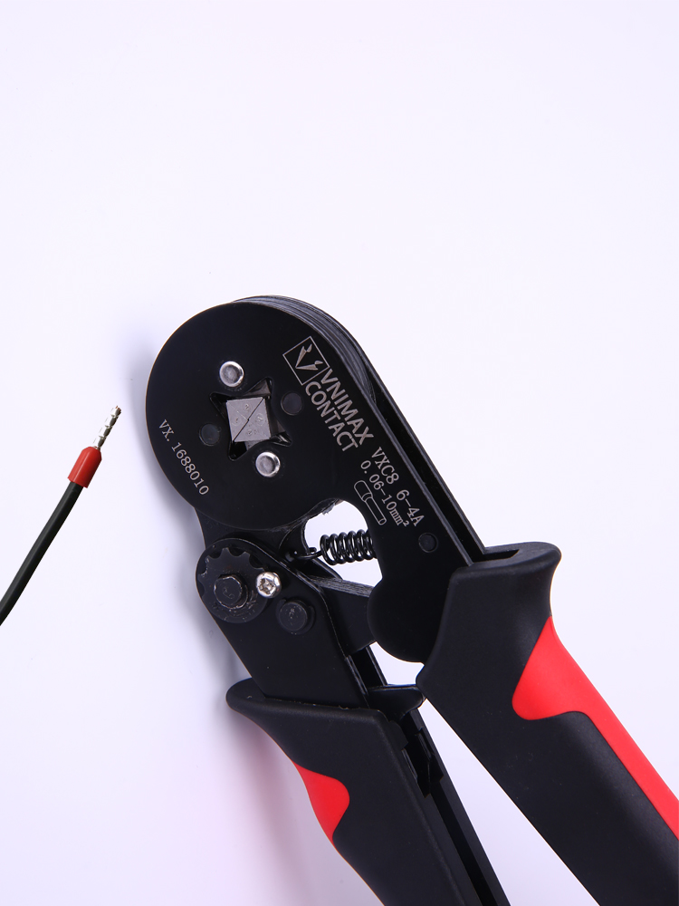 Crimping-Tools Clamp-Sets Terminal Electrical-Pliers Tubular for 28-7awg/Terminals/High-precision