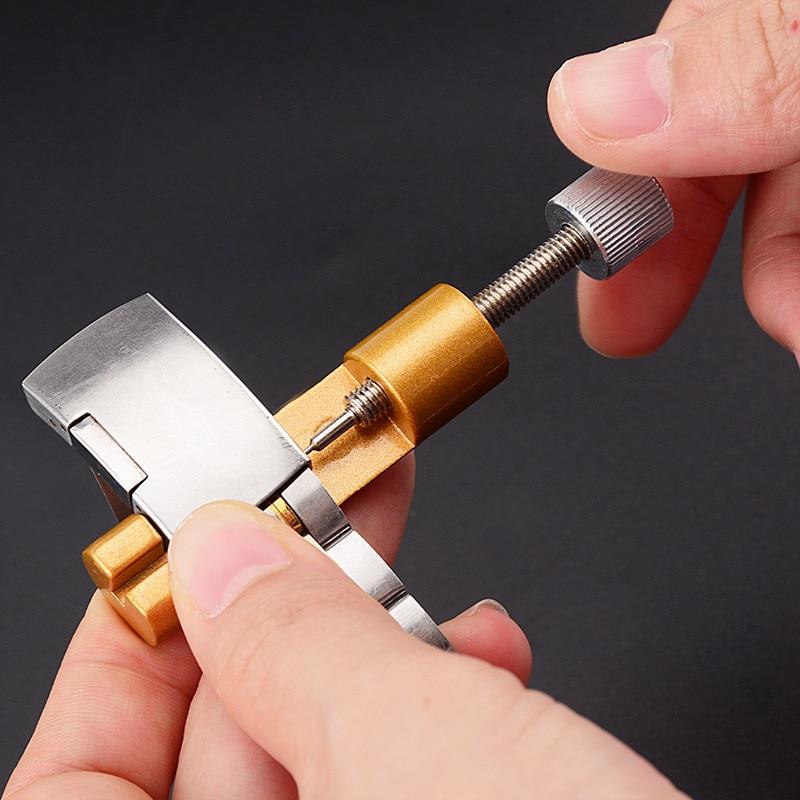 Steel Watch Accessories Bracelet Link Pin Remover Metal Adjustable Watchband Watch Strap Repair Tool Watches Accessories