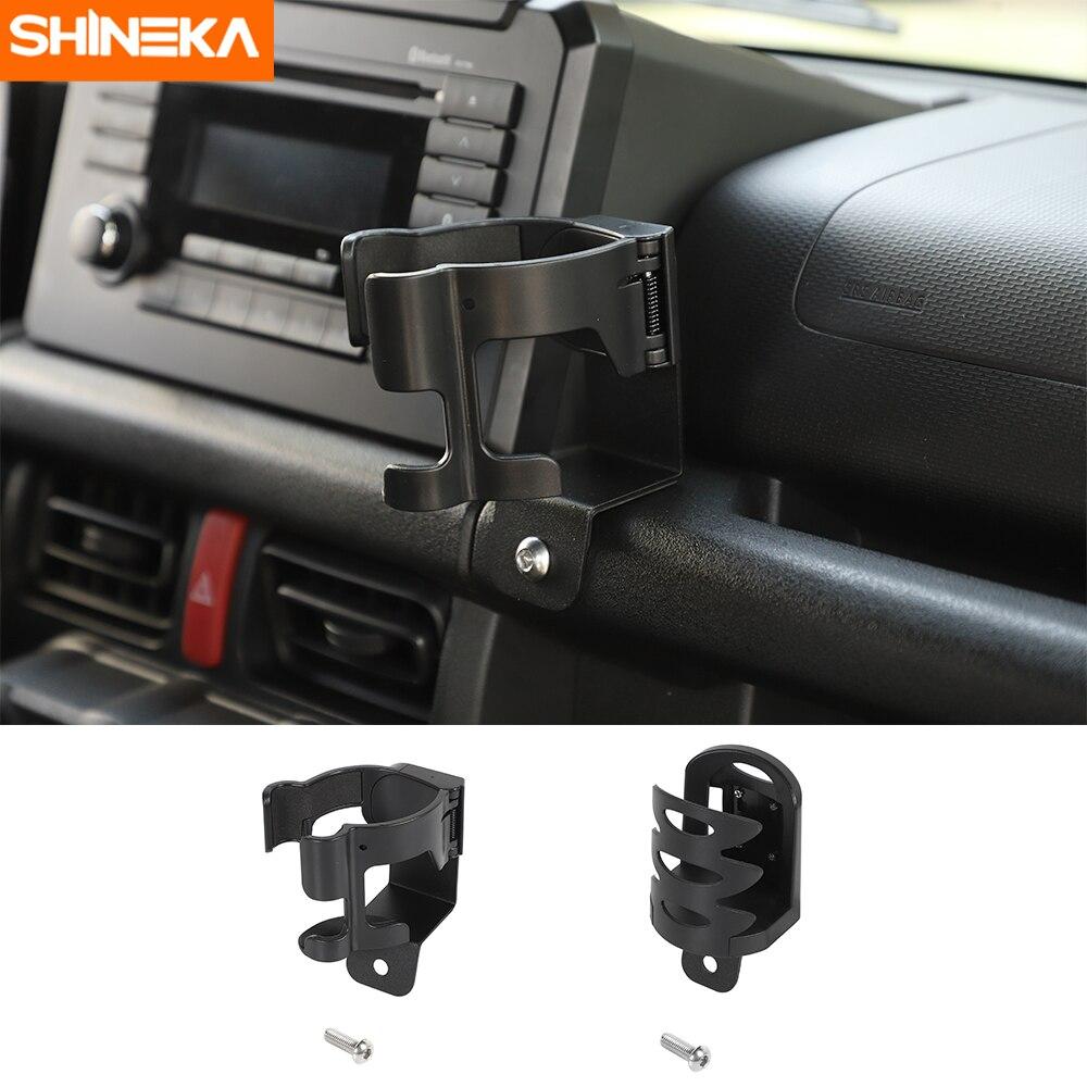 SHINEKA Universal Car Bracket For Suzuki Jimny 2019+ Car Phone Bracket Drink Cup Holder Stand Organizer For Suzuki Jimny 2019+