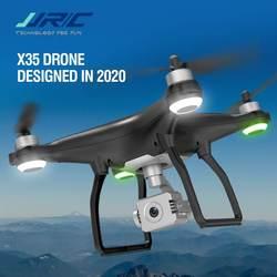 JJRC X35 GPS 1.5KM 5G WiFi FPV 4K ESC HD Camera 3-Axis Gimbal 30mins Flight Time Brushless RC Drone Quadcopter Multicopter RTF