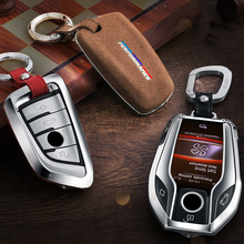 Car Styling For BMW X3 X4 G01 5 series G30 G38 Protect Shell Interior auto Accessories Key Rings Protection Covers Stickers Trim
