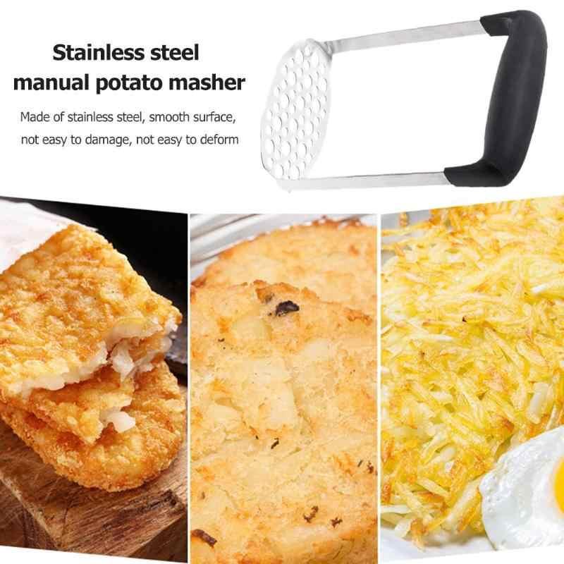 Manuelle Kartoffel Schlamm Masher Edelstahl Druck Schlamm Püree Gemüse Obst Presse Maker Knoblauch Presser Küche Zubehör