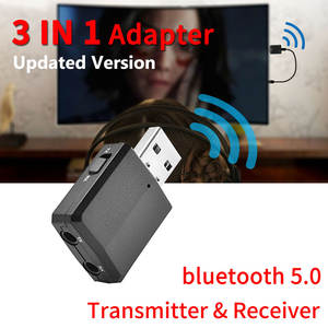 ZF-169 3 IN 1 Bluetooth 5.0 Adapter Transmitter Receiver USB Wireless Dongle 3.5mm AUX For PC TV Car Music Audio Home Speaker