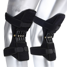 1pc Strap Non-Slip Power Knee Brace Support Stabilizer Pads Lift Spring Force Booster Tendon Patella Boosters Hot Sale