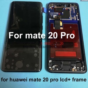 Image 5 - شاشة LCD تعمل باللمس مع الهيكل وبصمة الإصبع ، ضمان أصلي 100% لهاتف Huawei Mate 20 Pro mate 20 pro