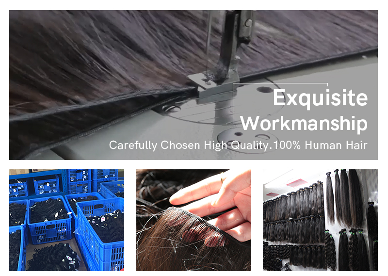 High Quality bundle hair extension