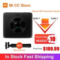 In Stock Xiaomi Mijia Sphere 360º Panorama Camera Ambarella 3.5K Video Recording 1600mAh View Action Sports Camera Kit