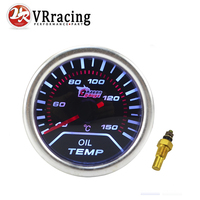VR   Oil Temp gauge 2 52mm Digital Wideband Oil temperature gauge/auto gauge/car meter/tachometer/auto parts VR TAG05 OC