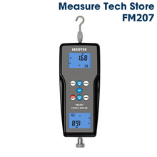 Landtek FM-207 Digital Force Gauge Dynamometer Push Pull Testing Machine 10N Tensiometer Measuring Meter Portable Tension Tester