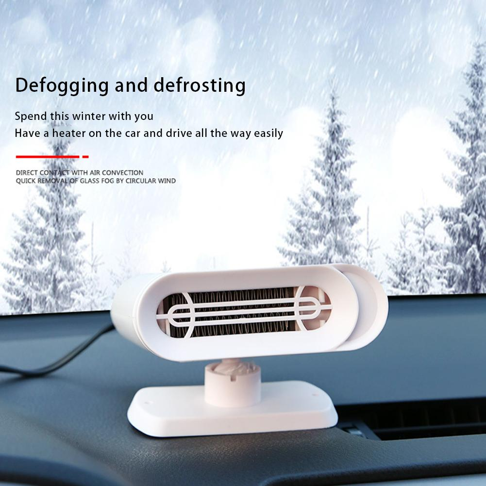 Car Defroster Lighter Car Defogger Heater for Automobile Heating//Cooling 2 in 1 Function Portable Car Heater Black 200W 12V Car Truck Auto Heater Hot Cool Fan Windscreen Window Demister Defroster